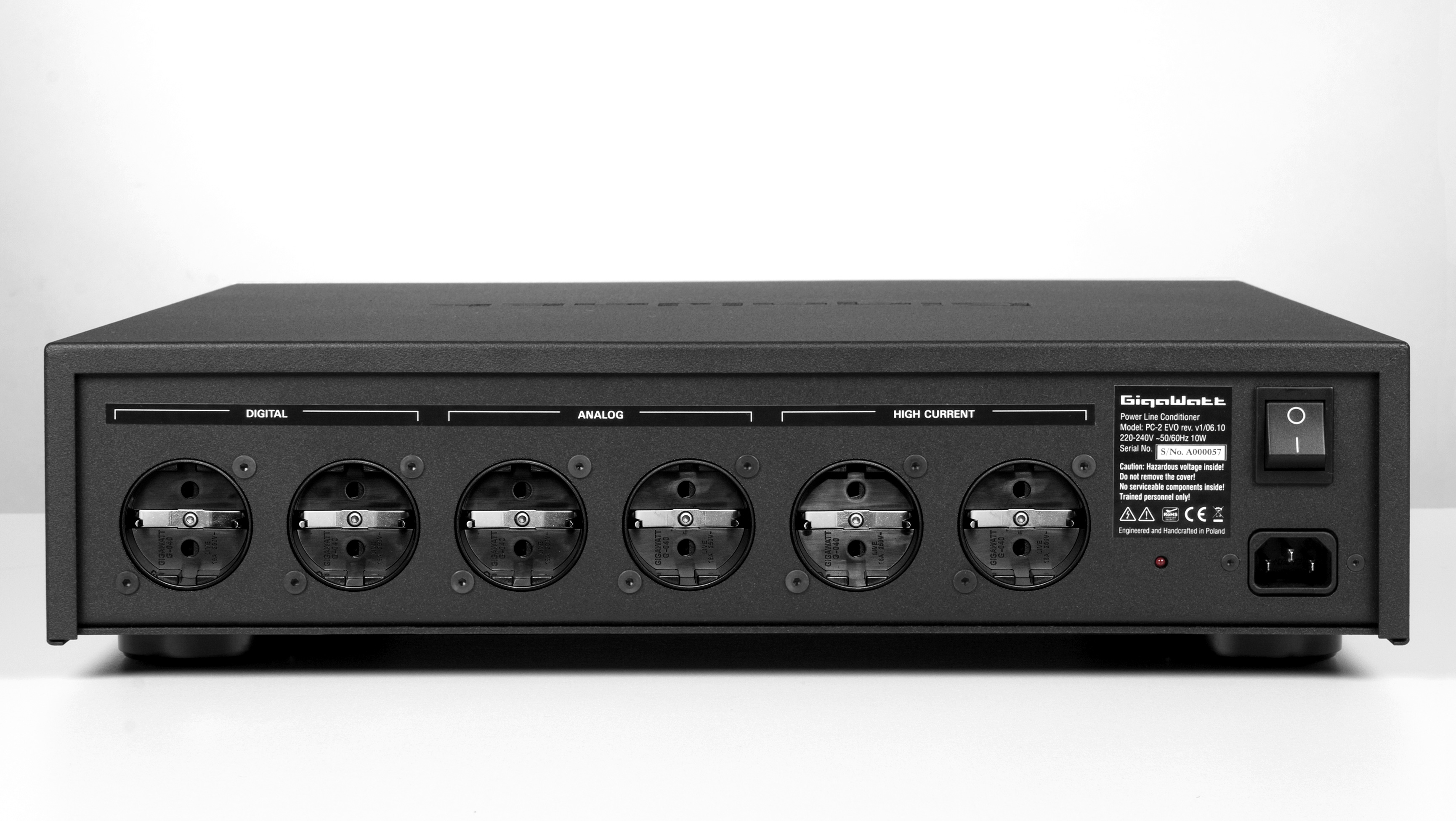 Power Line Conditioner GigaWatt PC-2 EVO+ – GigaWatt